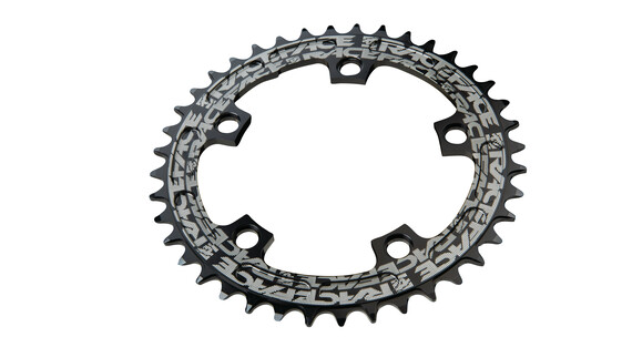 Race Face CX-Single Narrow Wide Chainring 130 BCD schwarz